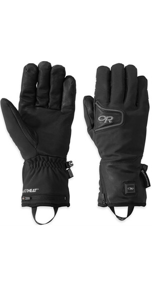 Outdoor Research Stormtracker Heated Gloves Black